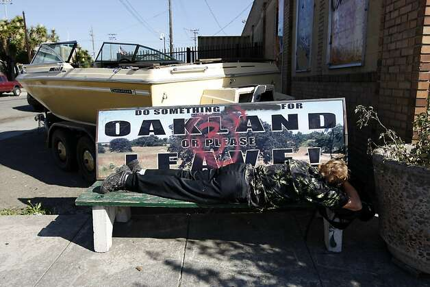 Fear white influx will erase west oakland history sfgate for Outboard motor shop oakland