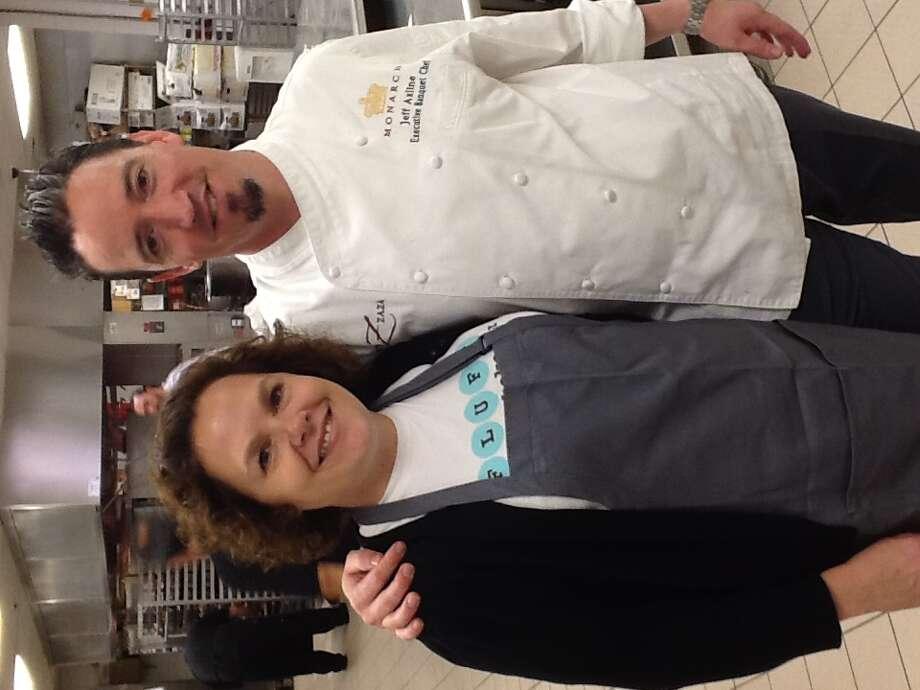 Rebecca Masson of Fluff Bake Bar and Jeff Axline of Hotel Zaza. (Photo: Greg Morago)