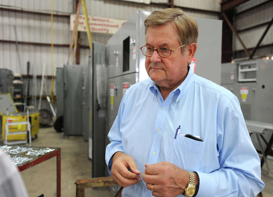 James Steffek of M & I Electric in Beaumont. The company announced this week plans to expand their manufacturing space and staff. Photo taken Friday, October 04, 2013 Guiseppe Barranco/The Enterprise Photo: Guiseppe Barranco, STAFF PHOTOGRAPHER / The Beaumont Enterprise