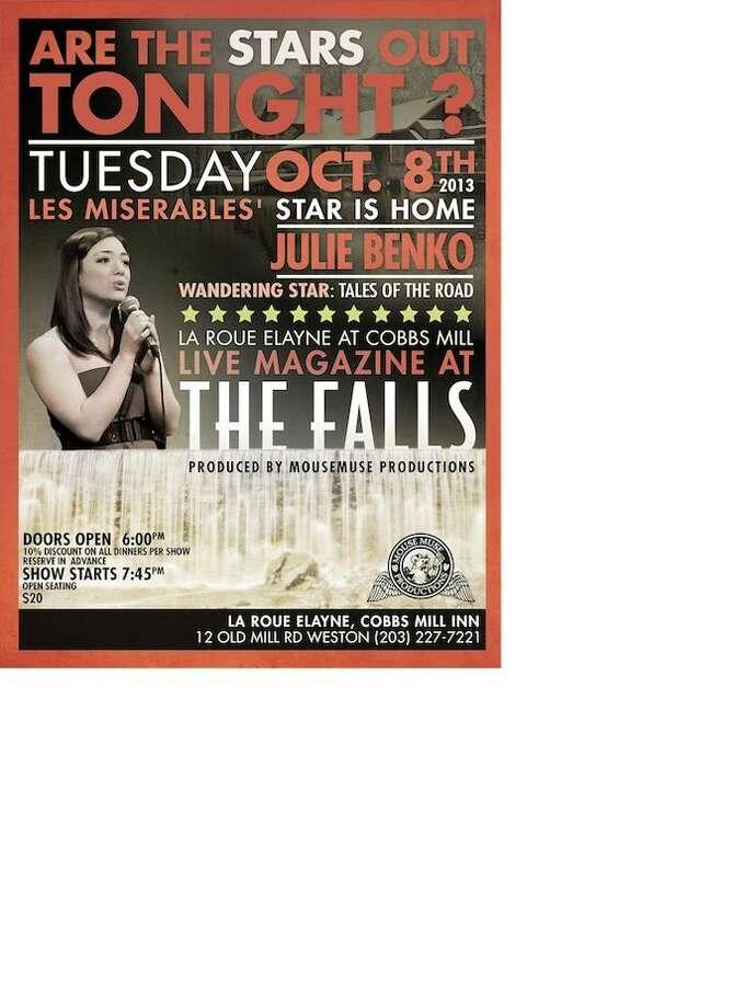 """Live Magazine at the Falls"" presents Julie Benko, October 8, 2013"