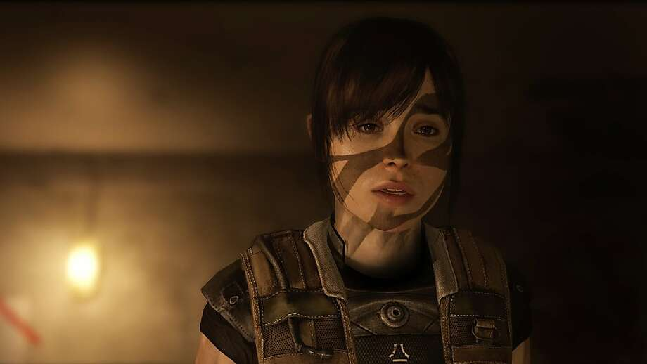 """""""Beyond: Two Souls"""" features Jodie (Ellen Page); the player also controls a spirit called Aiden to help her. Photo: Sony"""
