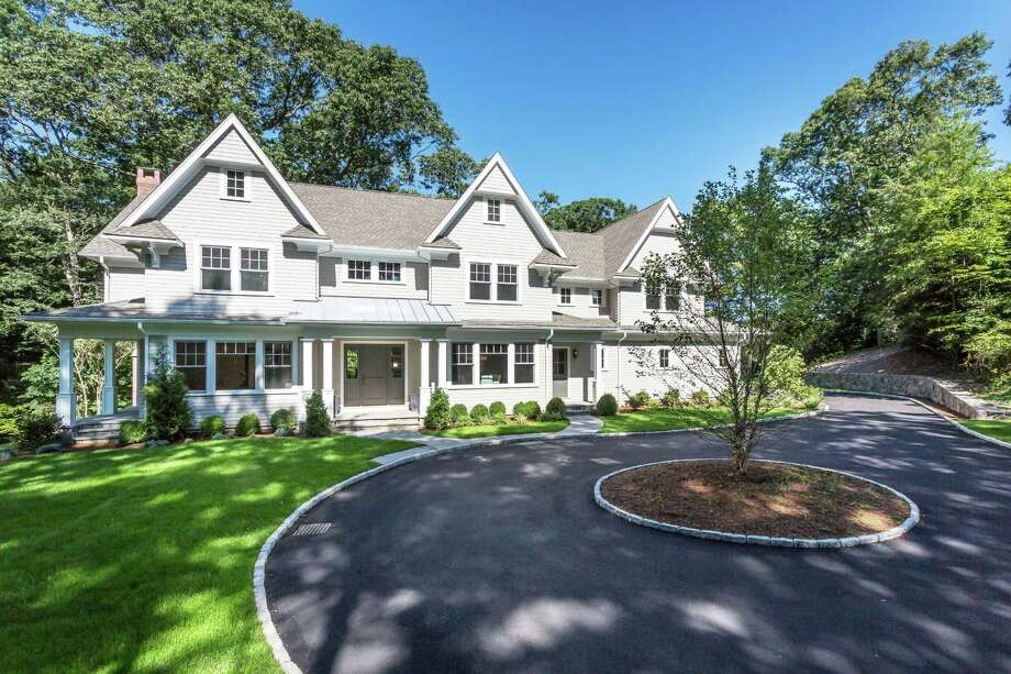 The recently built house at 16 Side Hill Road is on the market for $2,599,000. Photo: Contributed Photo / Westport News contributed