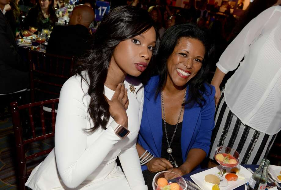 Honoree Jennifer Hudson (L) attends Variety's 5th Annual Power of Women event presented by Lifetime at the Beverly Wilshire Four Seasons Hotel on October 4, 2013 in Beverly Hills, California.  (Photo by Michael Buckner/Getty Images for Variety) Photo: Michael Buckner, Getty Images For Variety
