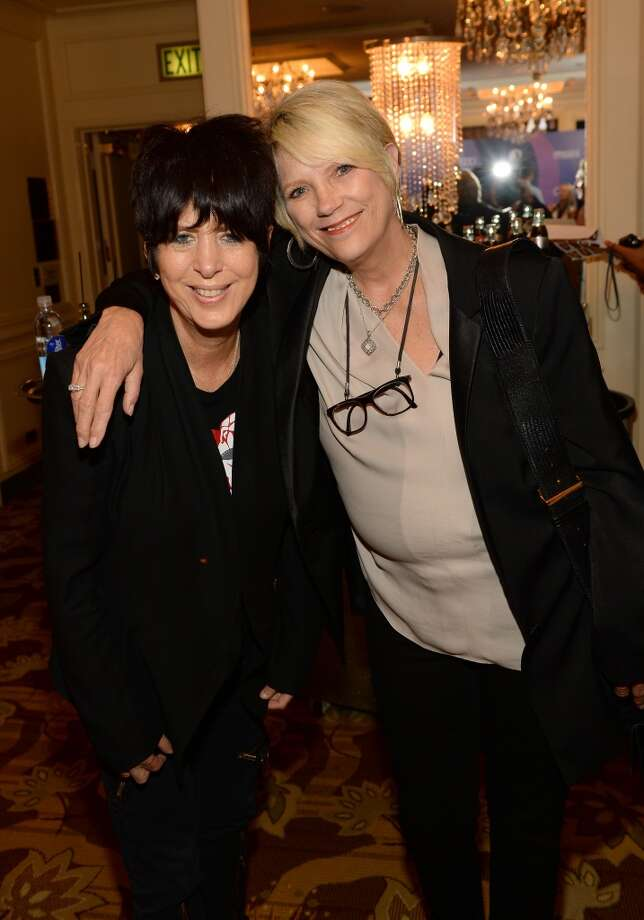 Songwriter Diane Warren (L) attends Variety's 5th Annual Power of Women event presented by Lifetime at the Beverly Wilshire Four Seasons Hotel on October 4, 2013 in Beverly Hills, California.  (Photo by Mark Davis/Getty Images for Variety) Photo: Mark Davis, Getty Images For Variety