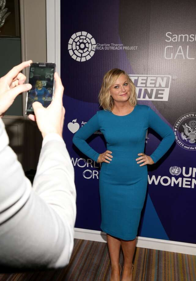 Actress Amy Poehler attends Samsung Galaxy at Variety's 5th Annual Power of Women event presented by Lifetime at the Beverly Wilshire Four Seasons Hotel on October 4, 2013 in Beverly Hills, California.  (Photo by Christopher Polk/Getty Images for Variety) Photo: Christopher Polk, Getty Images For Variety