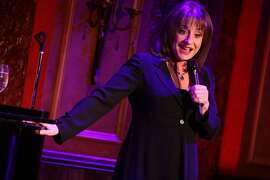 "Patti LuPone performing her show ""Coulda, Woulda, Shoulda - Played That Part"" at 54 Below on Wednesday night, February 13, 2013. (Photo by Hiroyuki Ito/Getty Images)"