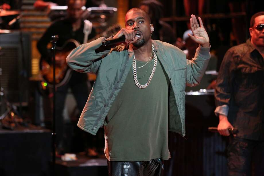 2nd WORST role model for teenage boys:  Hip hop musician Kanye West Photo: NBC, NBCU Photo Bank Via Getty Images