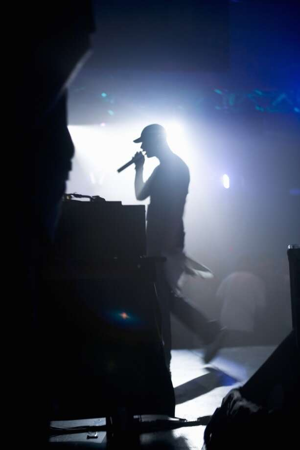5th WORST role model for teenage boys:Male rappers Photo: Paul Giamou, Www.jupiterimages.com