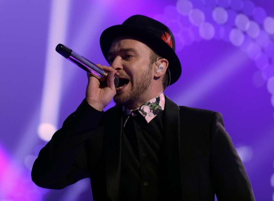 2nd BEST role model for teenage boys:Singer/actor Justin Timberlake Photo: Isaac Brekken