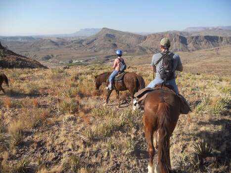Horse riding in Big Bend Ranch State Park (Cory Heikkila / Houston Chronicle)