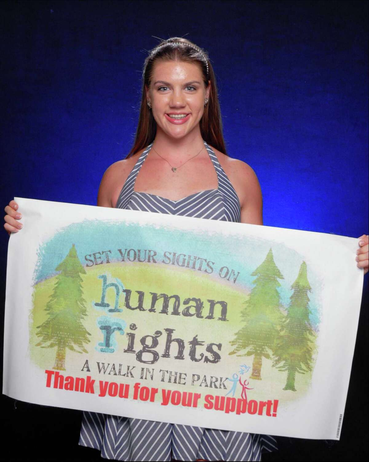 Demme Durrett is organizing the Human Rights Walk and Festival.