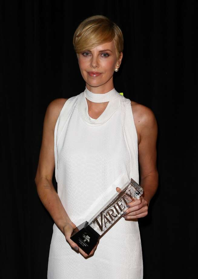 Honoree Charlize Theron attends Variety's 5th Annual Power of Women event presented by Lifetime at the Beverly Wilshire Four Seasons Hotel on October 4, 2013 in Beverly Hills, California.  (Photo by Joe Scarnici/Getty Images for Variety) Photo: Joe Scarnici, Getty Images For Variety