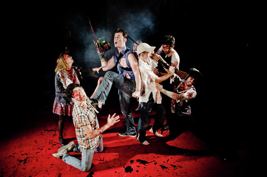 "The Cameo Theatre is presenting the musical ""Evil Dead."" Photo: Courtesy James Teninty"