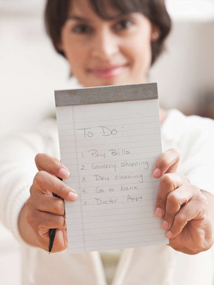 "Be realistic about your to-do list""The stress hormone cortisol ages the body, inside and out,"" Ronald Kotler, MD, Clinical Professor of Medicine at the University of Pennsylvania and author of 365 Ways to Get a Good Night's Sleep. ""If your to-do list is a mile long and you're constantly thinking about it, you're living the stress response all the time."" Try only writing down the stuff you can get done during the day, and enlist your husband, mom, or babysitter to help you with the rest. Doctor's orders!