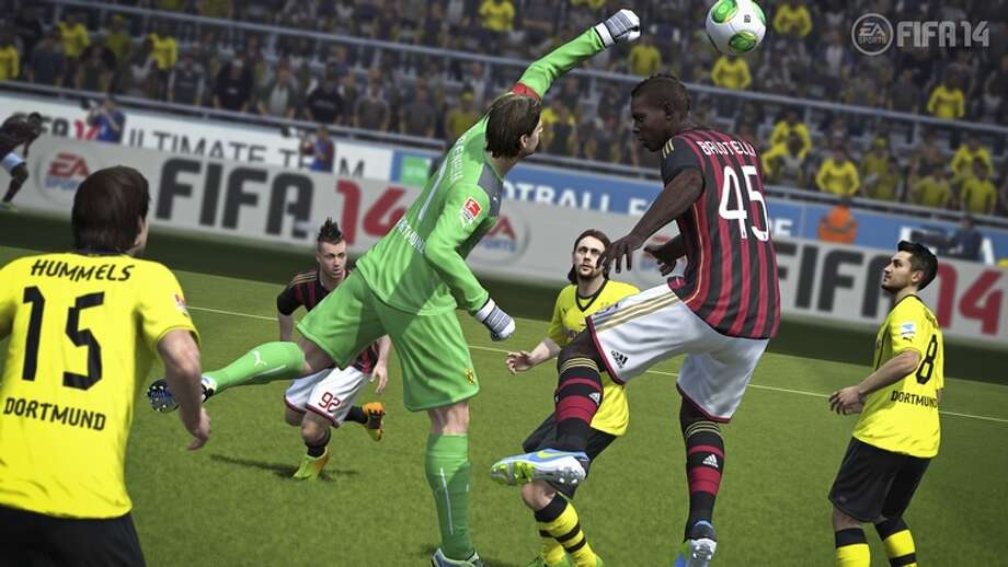 No. 4: FIFA Soccer 14 Electronic Arts Sports  PlayStation 3 Sports Weekly units sold: 198,753 Total units sold: 198,753 Weeks available: 1 Photo: EA Sports