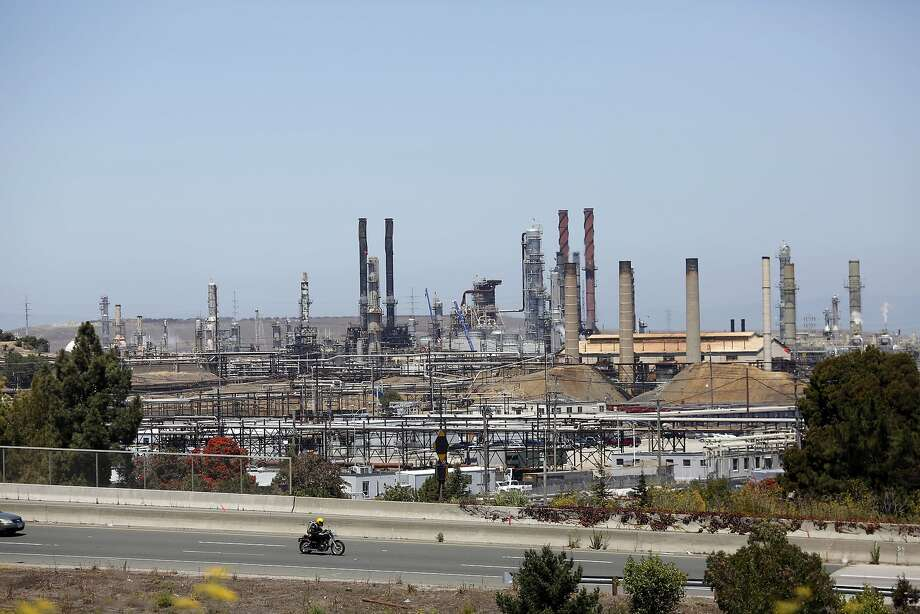 The Chevron refinery in Richmond, Calif. that set on fire last year seen on August 2, 2013. Photo: Ian C. Bates, The Chronicle
