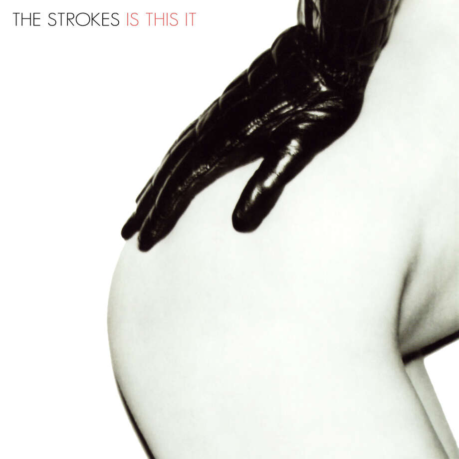 The Strokes, 'Is This It': This is the original cover. But the band's label decided U.S. fans couldn't handle a little side-butt action and replaced the it with an abstract eyesore. Photo: RCA