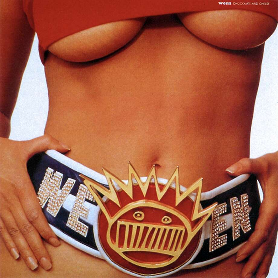 Ween, 'Chocolate and Cheese': You would never guess it was filled with warped folk songs like 'Spinal Meningitis (Got Me Down)' and 'Mister, Would You Please Help My Pony?' Maybe that was the point. Photo: Elektra