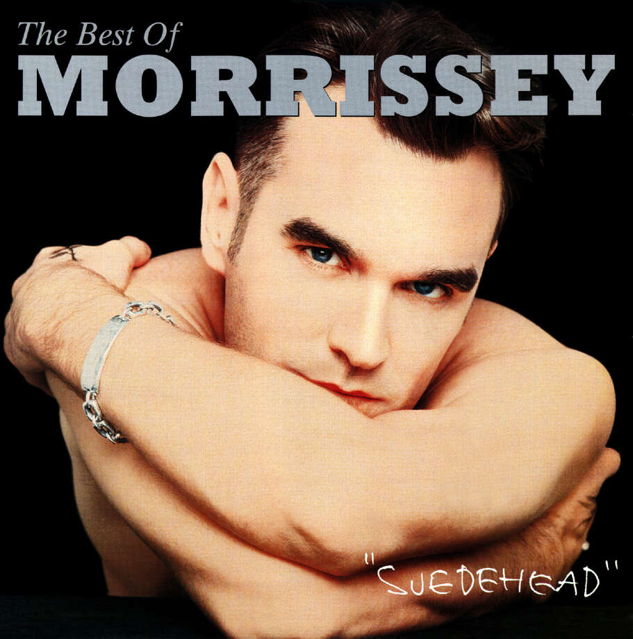 Morrissey, 'Suedehead: The Best of Morrissey': Not a bad look for a celibate old grump. Photo: EMI