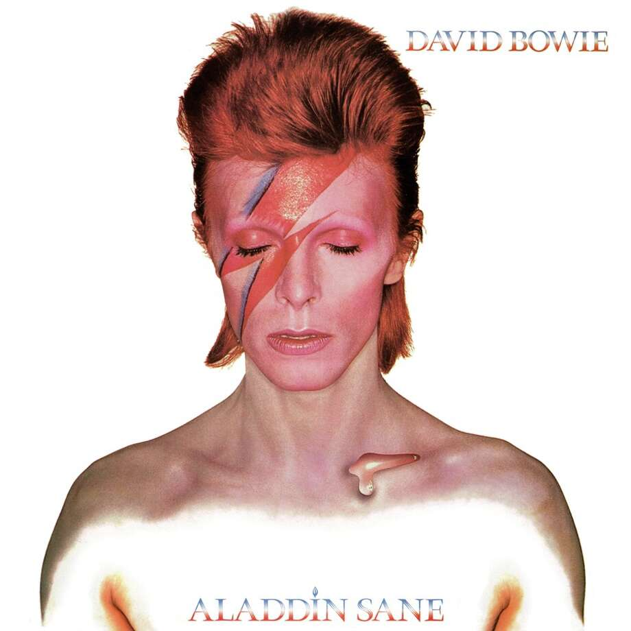 David Bowie, 'Aladdin Sane': This is what sex with David Bowie looks like. We're only guessing. Photo: Virgin Records