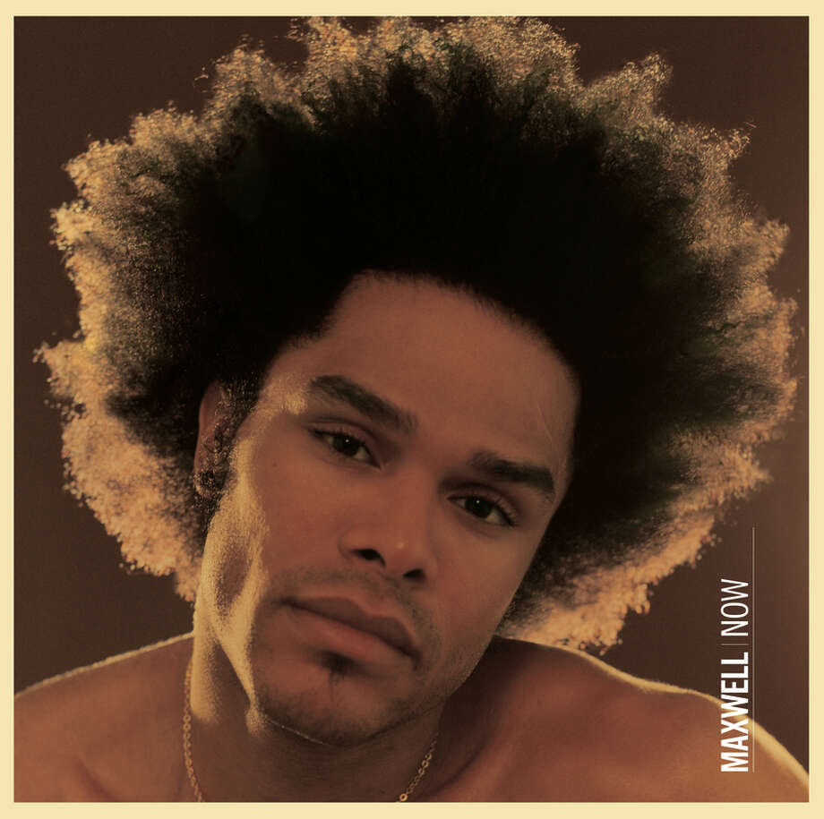 Maxwell, 'Now': The neo-soul crooner doesn't just have bedroom eyes, he also has bedroom hair. Photo: Sony