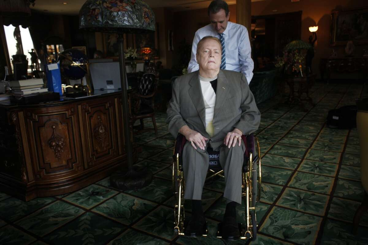 Larry Flynt - the porn producer You gotta love how Hustler mag publisher Larry Flynt campaigned. The day after he entered the race, he took off on vacation in Hawaii. CA Recall Flashback: Larry Flynt