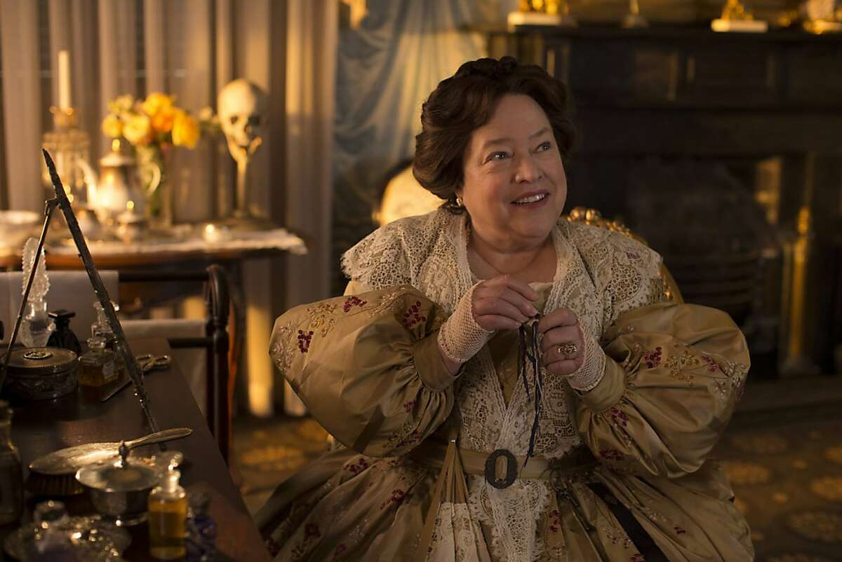 AMERICAN HORROR STORY: COVEN Bitchcraft - Episode 301 (Airs Wednesday, October 9, 10:00 PM e/p) --Pictured: Kathy Bates as Madame LaLaurie
