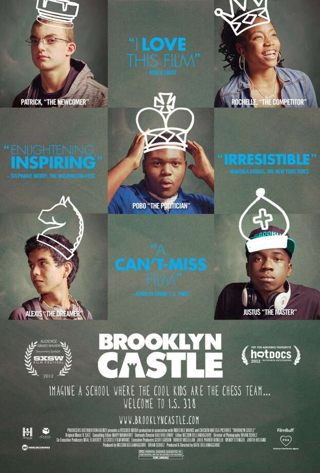 "The publicity poster for ""Brooklyn Castle,"" a documentary that tells the tale of some unlikely chess champions."