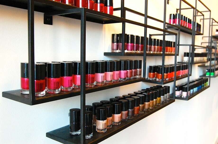 Lux SF is a new Hayes Valley nail salon that is quickly becoming a go-to mani-pedi destination. Photo: Maghan McDowell
