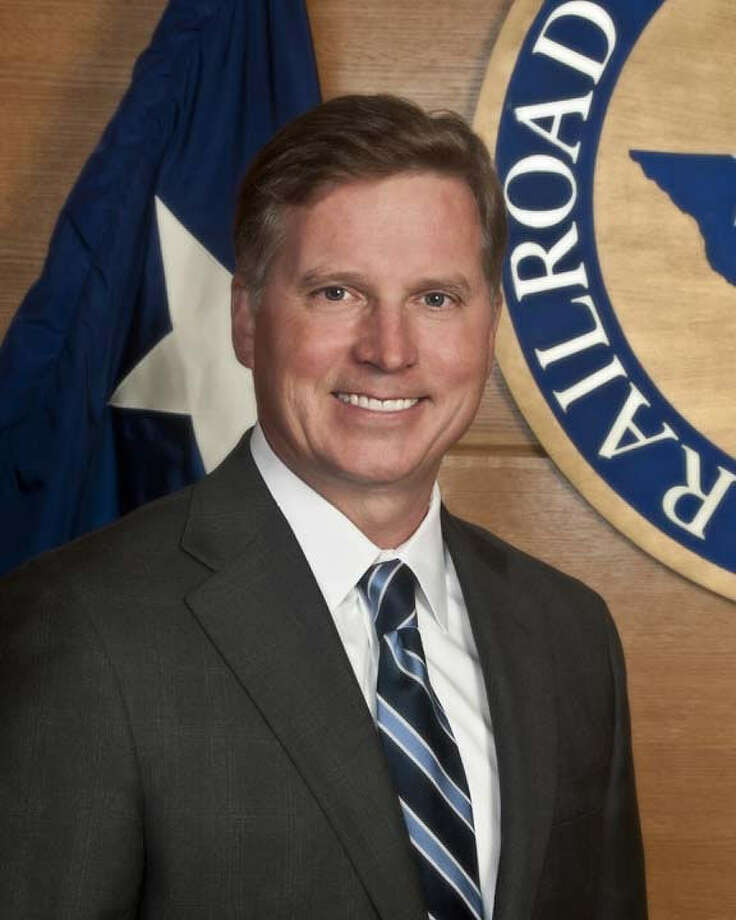 Railroad Commission Chairman Barry Smitherman is excited about Texas' oil production.
