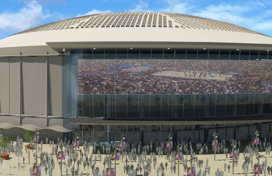 Sports Corp. released this rendering of a potential future for the Astrodome.