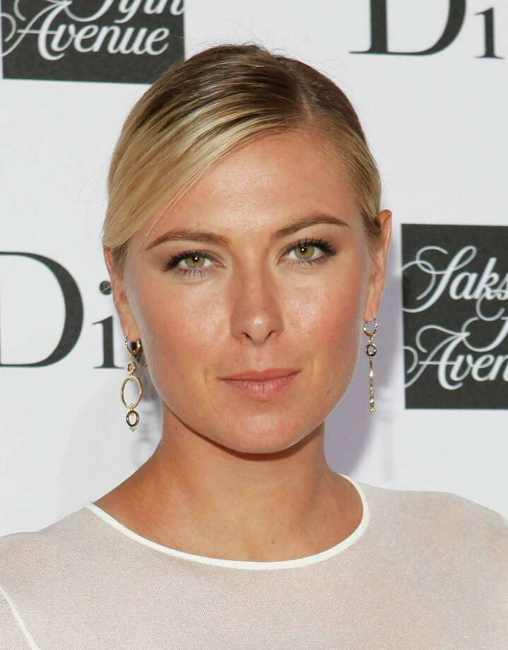 Maria Sharapova attends a party to celebrate Dior's fall/winter 2013-2014 Collection at Saks Fifth Avenue on Friday, Sept. 6, 2013, in New York. (Photo by Amy Sussman/Invision/AP) ORG XMIT: INVL104 Photo: Amy Sussman / Invision