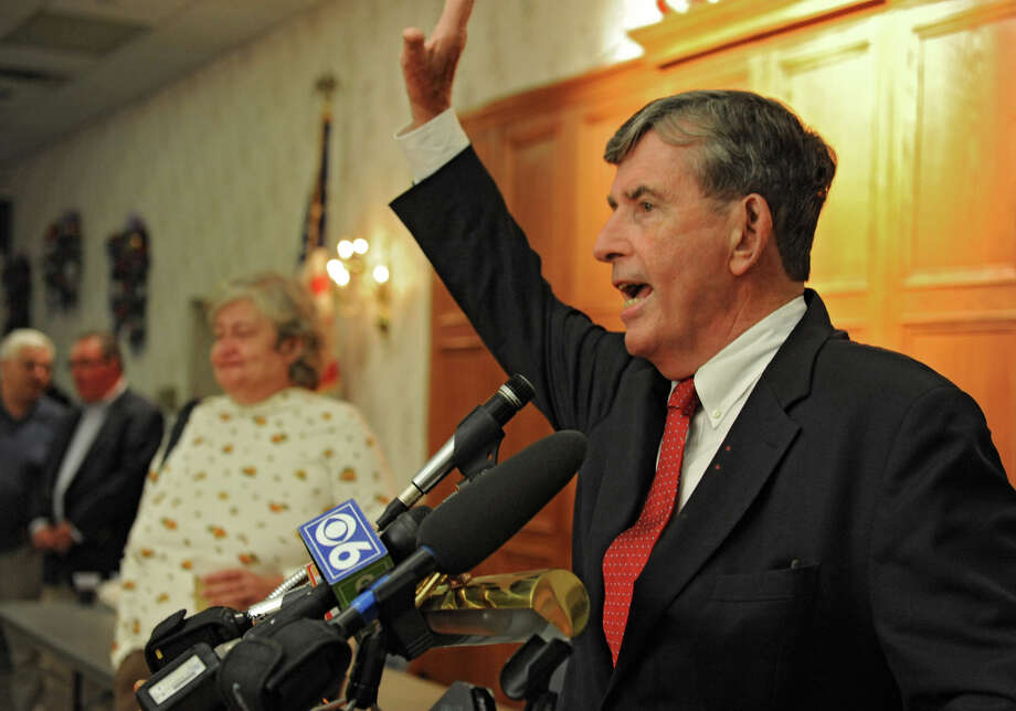 Senator Neil Breslin thanks everyone for their support during the Democratic Primary in the 44th Senate District  at the Polish American Citizen's Club Thursday, Sept. 13, 2012 in Albany, N.Y.  (Lori Van Buren / Times Union) Photo: Lori Van Buren / 00019252A