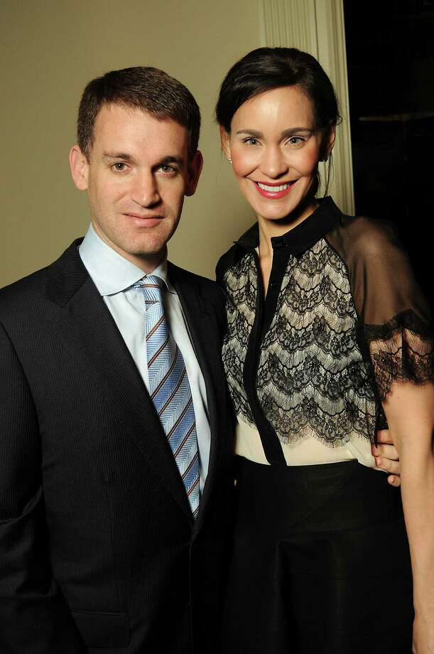 John and Laura Arnold, shown in March, run the The Arnold Foundation.  Photo: Dave Rossman, Freelance / © 2012 Dave Rossman