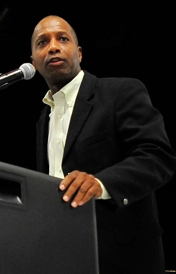 State Rep. James White spoke during the 33rd annual Lumberton Chamber of Commerce banquet hosted Oct. 7 at Lumberton High School. Photo: Cassie Smith