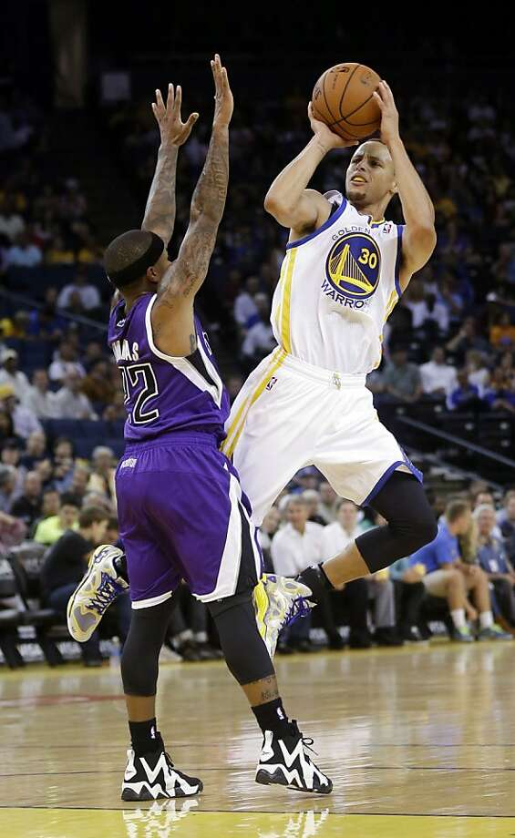 The Warriors will count on Stephen Curry for better shooting than his 36.4 percent accuracy during preseason games. Photo: Marcio Jose Sanchez, Associated Press
