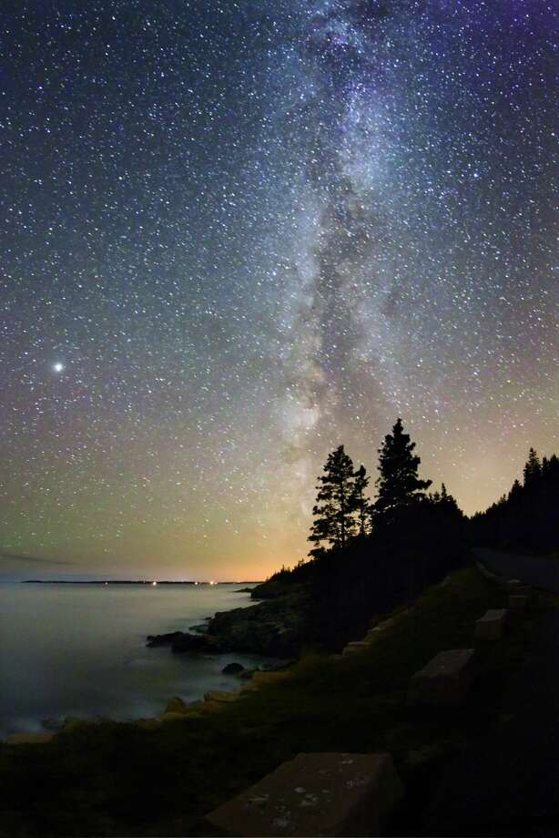 FALL | Acadia National Park, MaineMaine's night sky leaves visitors feeling like they'€™re very happily trapped under a bell jar made of stars.  (From National Geographic's 'Four Seasons of Travel') Photo: Tyler Nordgren