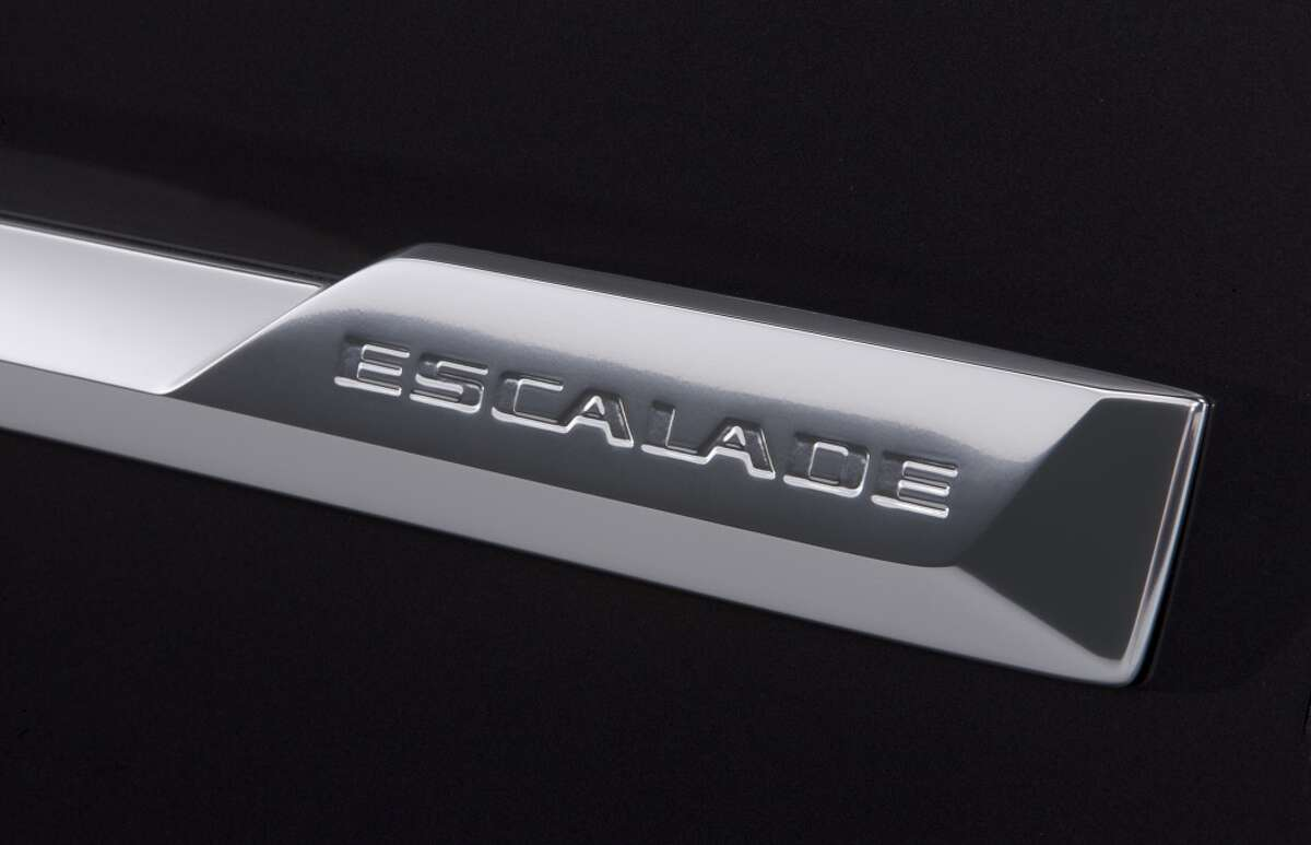 2015 Cadillac Escalade Badge