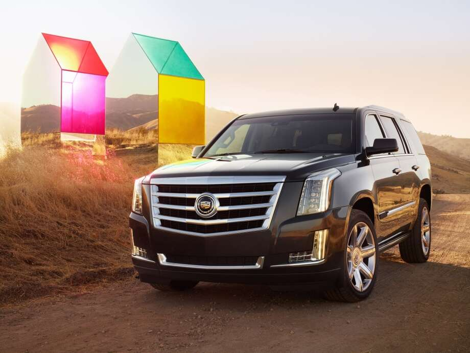 An art installation and portrait series inspired by the 2015 Cadillac Escalade, created by Autumn de Wilde.