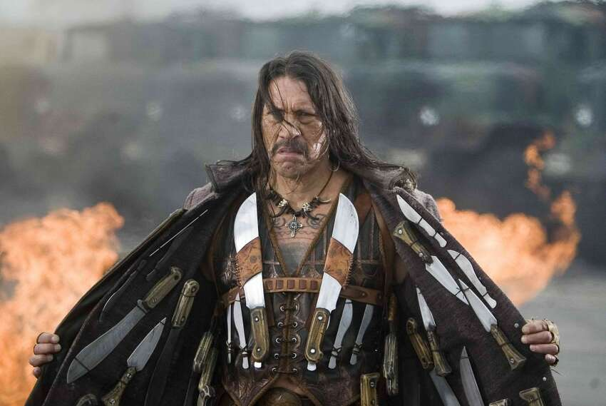 It doesn't get any more bad-ass than Danny Trejo, who stars in