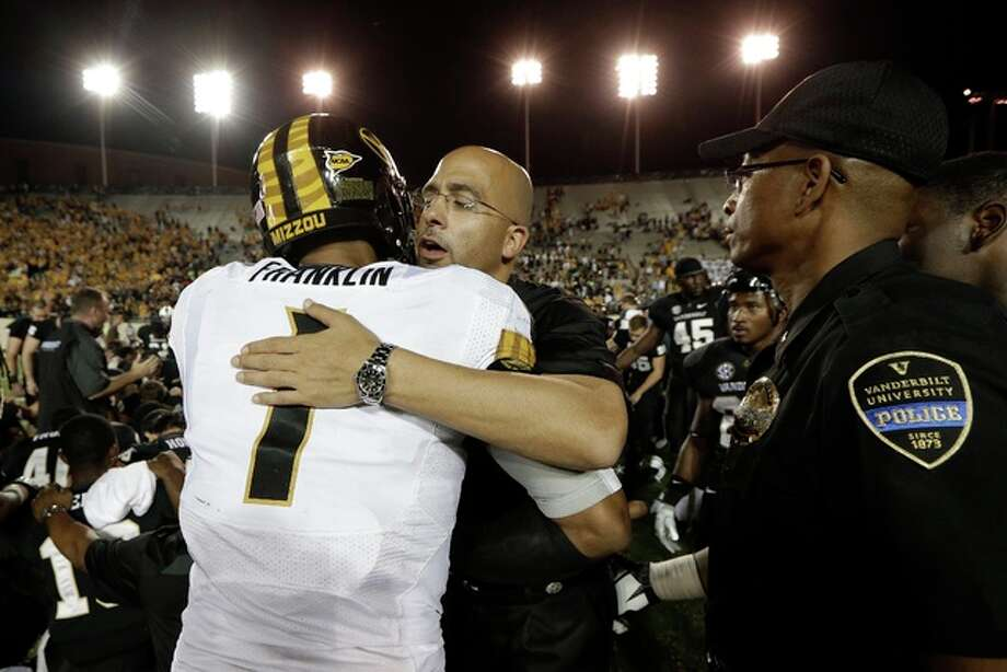 James Franklin, the quarterback gets the better of James Franklin, the coach.