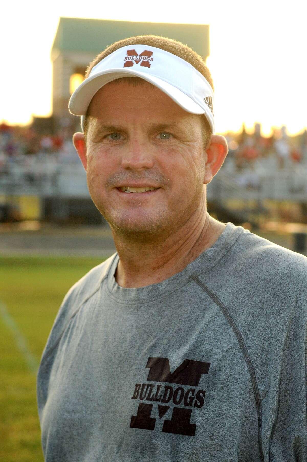 Magnolia Head Football Coach Andy Sexton
