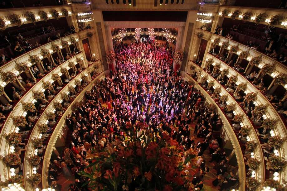 The glorious Vienna Opera House Photo: Ronald Zak, Associated Press