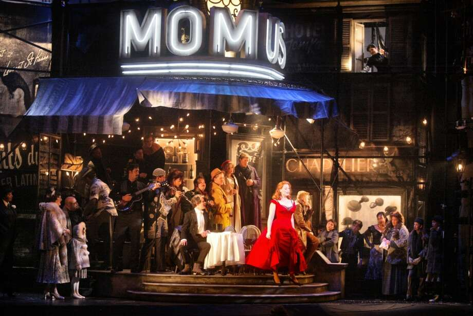 Baz Luhrmann's La Boheme in 2002 had its moments of grandeur Photo: MIKE KEPKA, SFC