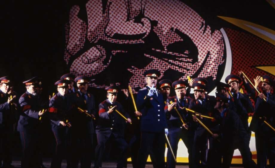 Lady Macbeth gets a little Stalin-like in this 1994 production Photo: Winnie Klotz, Metropolitan Opera Archive