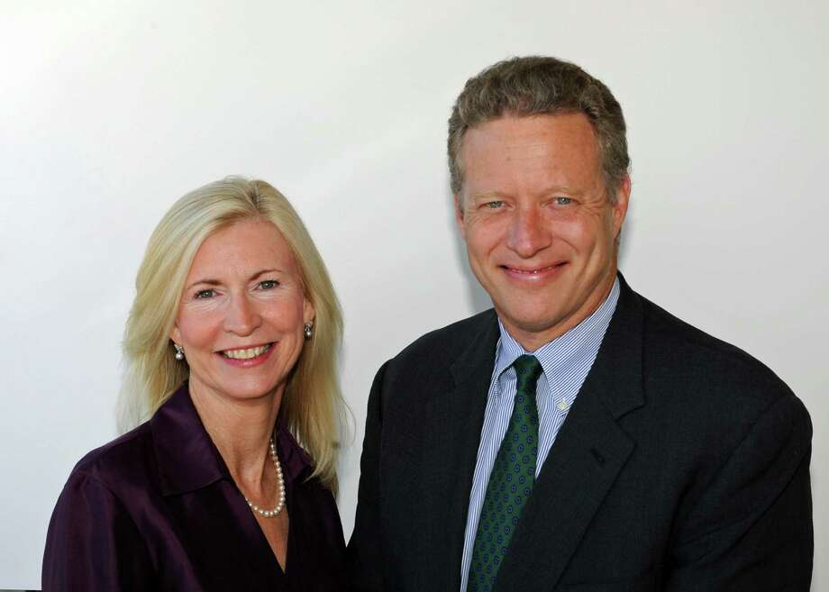 Christa Sheehan McNamara and David Martens, Republican candidates for the Darien Board of Education. Photo: Contributed Photo