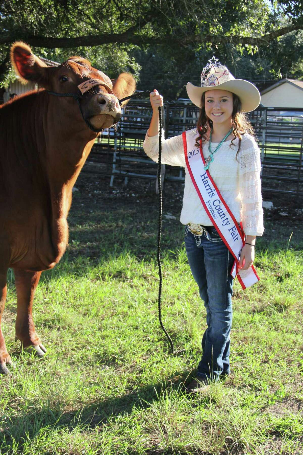 Autumn Huffman, Mayde Creek High School FFA vice president, competed in the Harris County Fair Pageant and won the title of Harris County Fair Princess and was also the first runner-up in the Miss Photogenic contest.