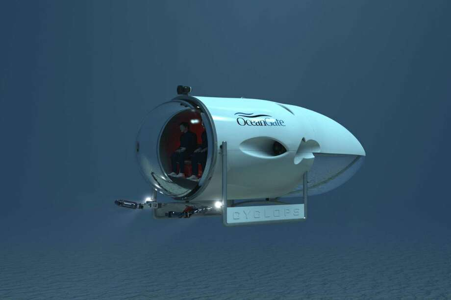 A depiction of the Cyclops submarine. Photo: OceanGate Inc.