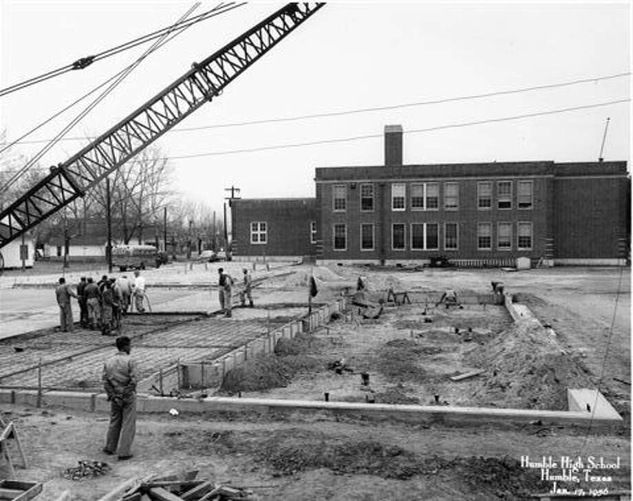 Charles Bender High School was renovated in 1956. Photo: Courtesy
