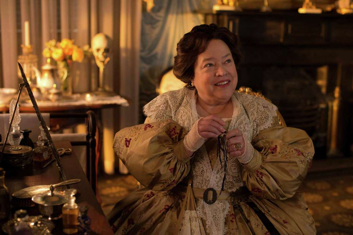 """Madame LaLaurie (Kathy Bates) is known for her brutal treatment of slaves in """"American Horror Story: Coven."""""""